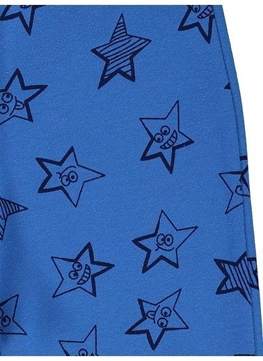 Civil Boys Civil Boys Yıldız Desenli Si Erkek Çocuk Eşofman Altı Mavi